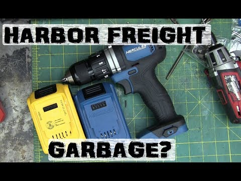 BOLTR: Dirty Secrets of Harbor Freight HERCULES | Better than DeWALT?