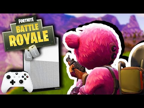 First Time Playing Fortnite On Xbox (Victory Royale)