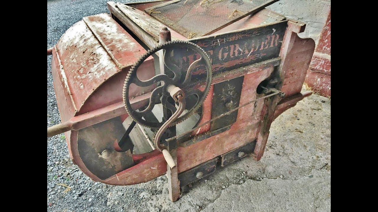 Antique The Grader Grain Cleaner You