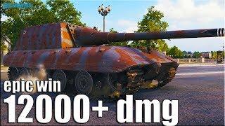 ЖЁЛТЫЙ СПЕЦНАЗ 12к урона 🌟 World of Tanks Jagdpanzer E 100