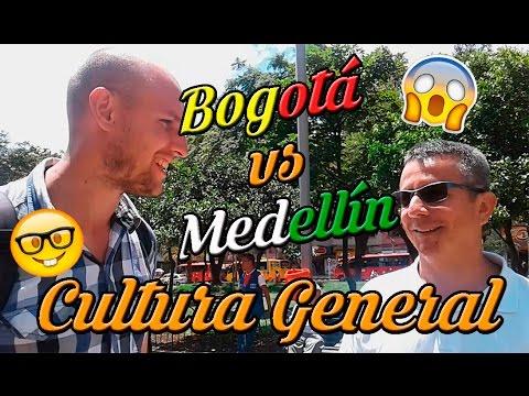 RETO! Cultura General: BOGOTÁ VS MEDELLÍN!!!!!