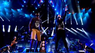 Repeat youtube video The Script ft. Tinie Tempah - Written in The Stars (Live at the Aviva Stadium) HD