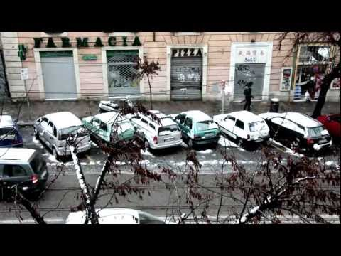 Neve a Roma - Esquilino TimeLapse N°2