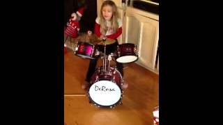 Hannah drum solo 12-29-12 Thumbnail