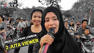 Saking viralnya..Penonton tidak bosan bosan merekues lagu ini di Orkes jalanan Irama dopang