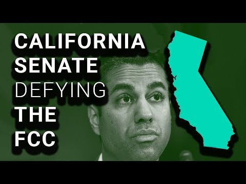 YES: CA Senate Defies FCC, Approves Net Neutrality Law