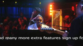 "Stevie Wonder performs ""Keep Our Love Alive"" at Mandela Day 2009 from Radio City Music Hall"