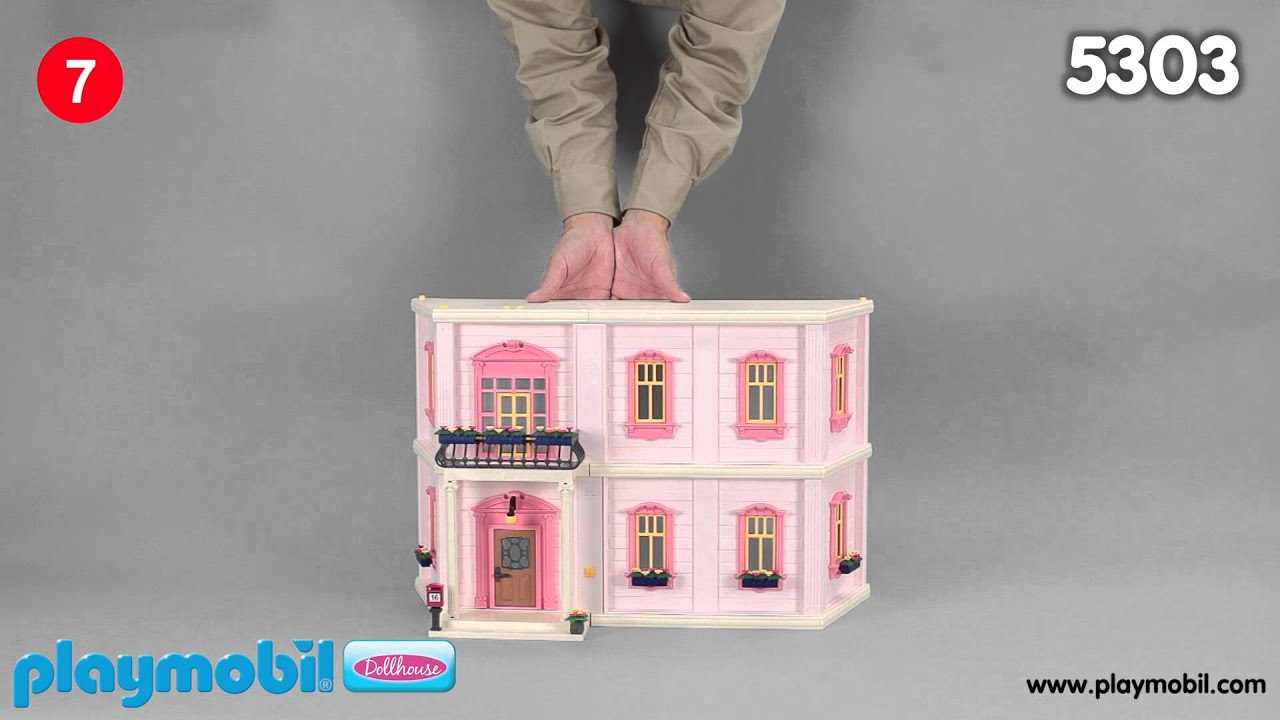 PLAYMOBIL Instruction - Extensions for Deluxe Dollhouse (5303) - YouTube