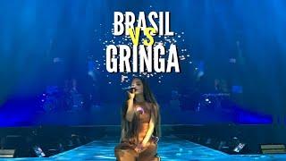 PÚBLICO DA ARIANA NO BRASIL VS NA GRINGA.