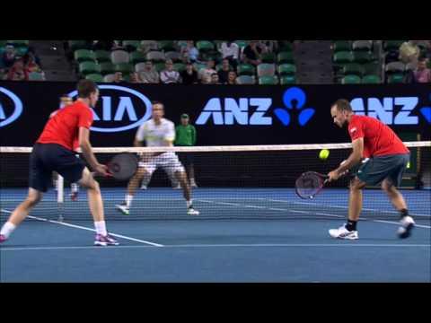 Murray/Soares v Nestor/Stepanek highlights (Final) | Australian Open 2016