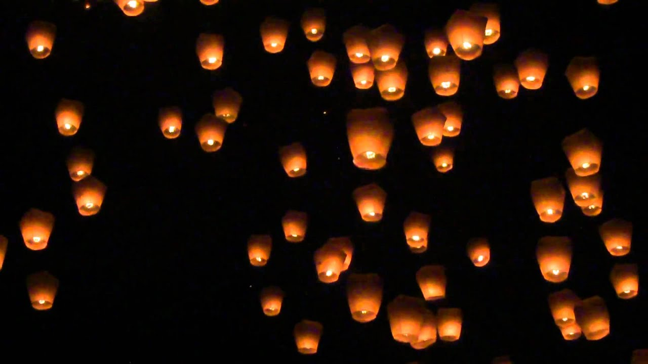 Sky Lanterns Wallpaper Iphone Sky Lantern Taiwan 2011 Youtube