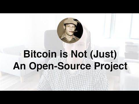 Bitcoin is Not (Just) An Open-Source Project