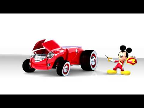 Mickey and the Roadster Racers on Disney Junior