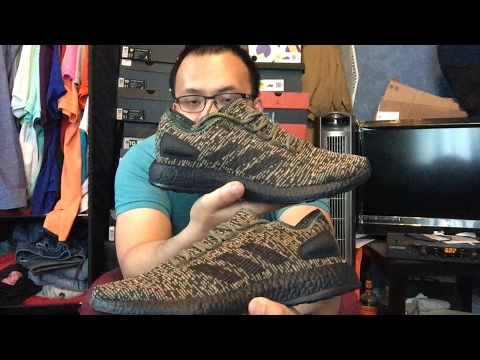 7199519524583 Adidas Pure boost CB Night Cargo   review-on foot ( unboxing)🔥🔥