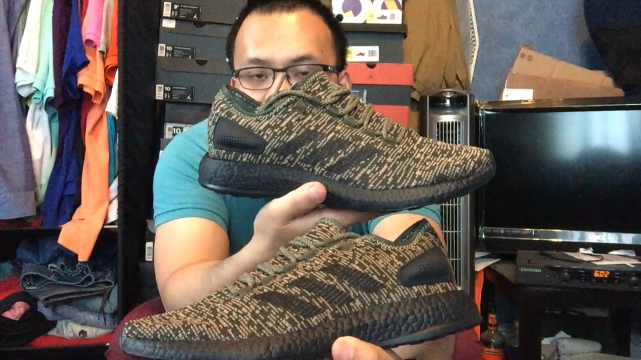 b1369b8f6 Adidas Pure boost CB Night Cargo   review-on foot (  unboxing)🔥🔥🔥🔥🔥🔥🔥🔥🔥🔥
