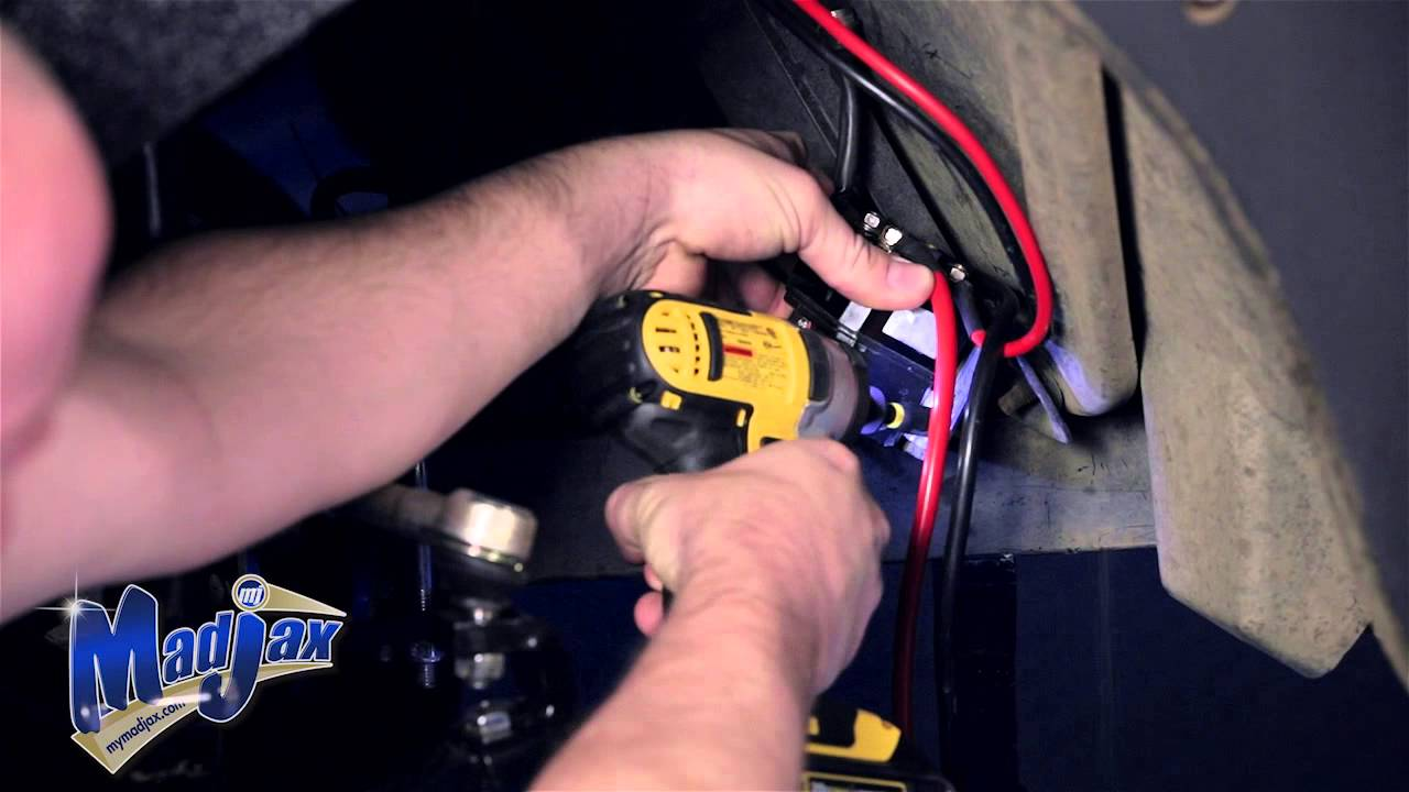 winch for armor bumper how to install video madjax golf cart accessories youtube [ 1280 x 720 Pixel ]