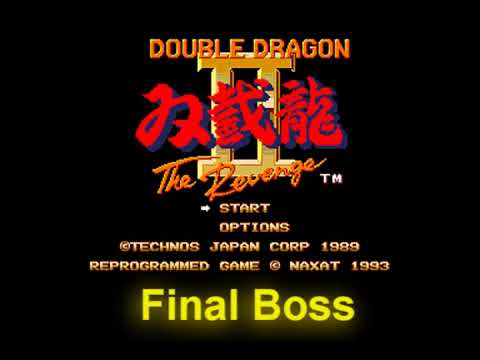 Double Dragon 2 Pc Engine Final Boss Ost Youtube