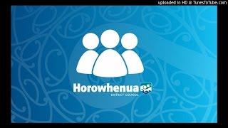 Horowhenua District Council Open Audio Recording Extraordinary Meeting 28 October 2015
