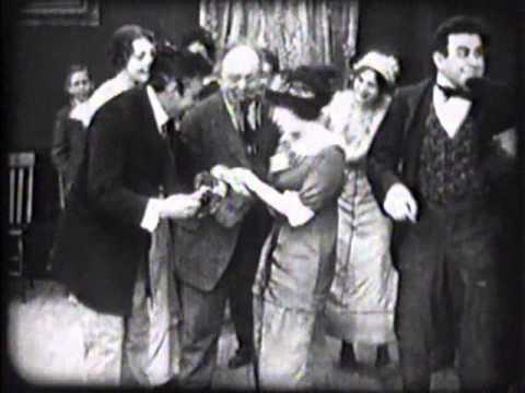 A STRONG REVENGE (1913) -- Mack Sennett, Ford, Sterling, Mabel Normand