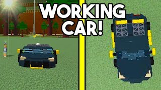 HOW TO MAKE A *WORKING* CAR! | Build A Boat For Treasure ROBLOX