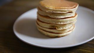 Идеальные панкейки без масла на молоке | Простой рецепт