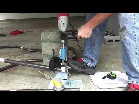 How To Build A Dune Buggy From Scratch - 010 - Notching Tubing