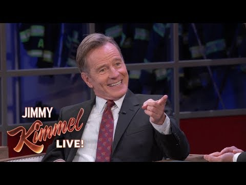 Embarrassing  of Bryan Cranston in First TV