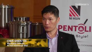 TALKING EDGE: Ni Hsin Forges New Path