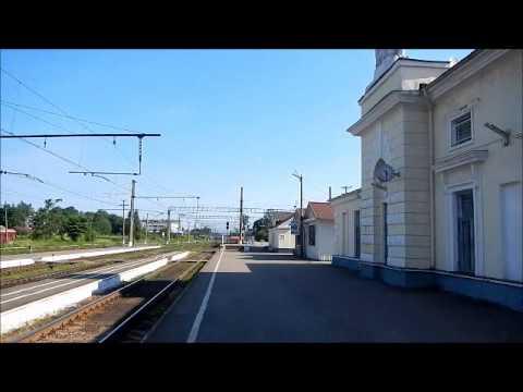 Luga train station (Leningrad Region) - Вокзал Луга (Ленинградская область)