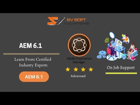 AEM Training Tutorial for Beginners | AEM  6.1 Online Training Video