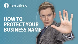 How do I protect my business name