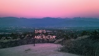 The 1975 - She's American LYRICS