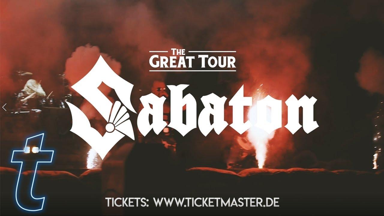 Sabaton 2020 Deutschland