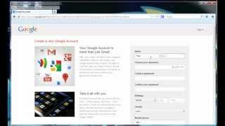 How To Create Gmail Email Address