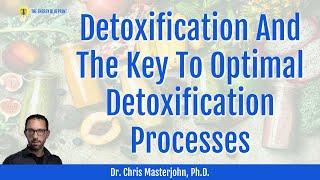 Dr  Chris Masterjohn On Detoxification And The Key To Optimal Detoxification Processes