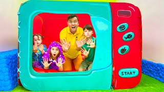 Five Kids Healthy eat Song Nursery Rhymes & Children's Song