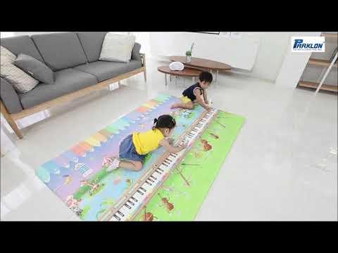 Parklon Music and Alphabet Island Musical Play Mat