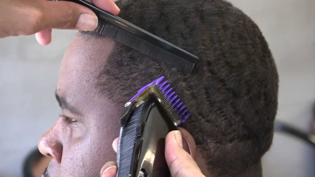 taper haircut - razor line 360