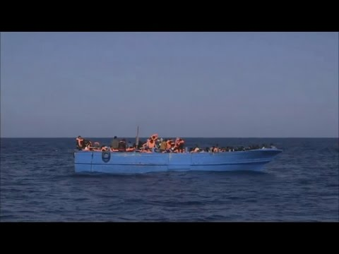 On the shores with the thousands dying to reach Europe | Channel 4 News