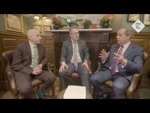 Nigel Farage v Lord Adonis clash on Brexit