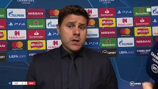 "Mauricio Pochettino reacts to Spurs losing 7-2 to Bayern Munich: ""We need to stick together"""