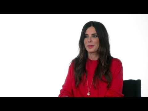 "Minions: Sandra Bullock ""Scarlet Overkill"" Behind the Scenes Movie Interview"