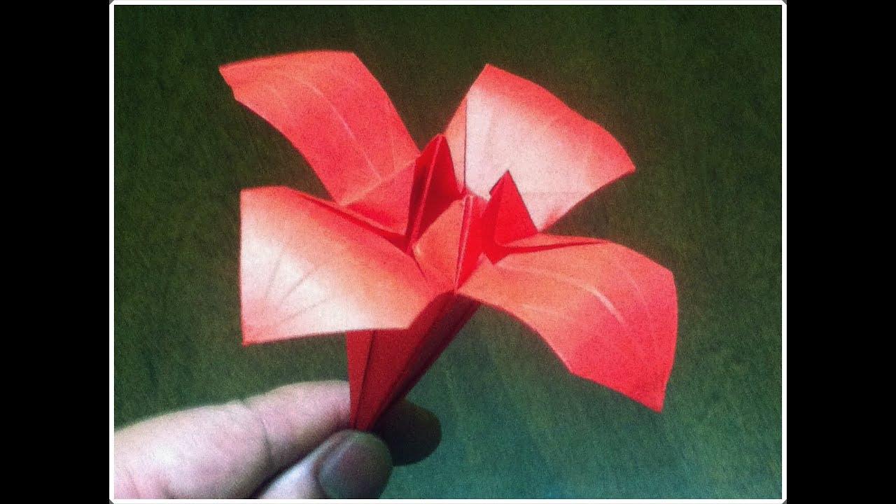 San Valentín Cómo Hacer Una Flor De Papel Flor Paper