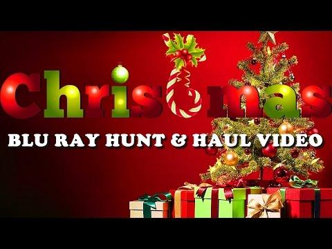 Blu Ray Hunt & Haul for Christmas Movies & Holiday Blu Ray Collection 2016