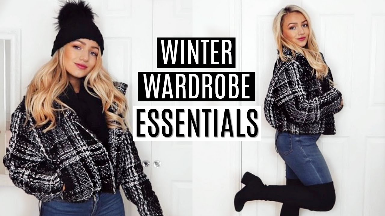 [VIDEO] - WINTER WARDROBE ESSENTIALS 2019! 6