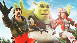 INTENTA ESCAPAR DE SHREK EN FORTNITE 2 ! *nuevo minijuego* - ElChurches