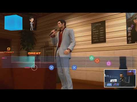 Yakuza Kiwami 2 I Mini Games Karaoke Gameplay TGS 2017 I Action Adventure I PS4
