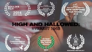 High And Hallowed: Everest 1963 - Official Film Trailer