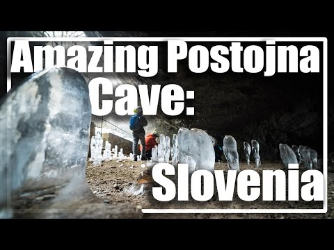 Amazing Postojna Cave - Slovenia