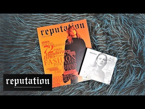 UNBOXIG: Taylor Swift - Reputation Deluxe Vol1  JJ